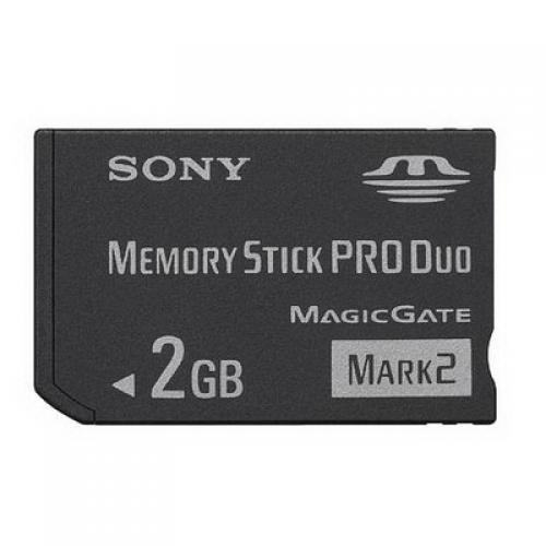 Sony Memory Stick Pro Duo - 2 GB