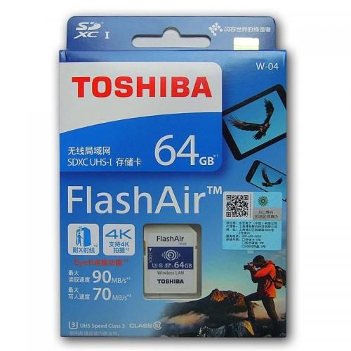 كارت حافظه WiFi SD Toshiba 64 GB